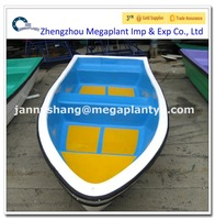 CE approved fibreglass sea trawler fishing boat