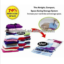cheap dollar store item storage bags travel organizer /space saver bags as seen on tv