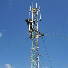 Hot Sale Galvanized Guyed Triangular Radio Telecom Tower