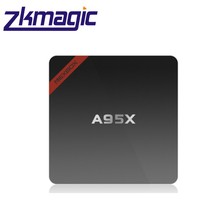 2017 New A95X B7N Quad-core Free Google Play app Download H.265 VP9 Decoder Android Tv Box