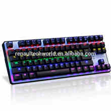 Best Quality Best Price Computer Wired Mechanical LED Gaming Keyboard for Desktop