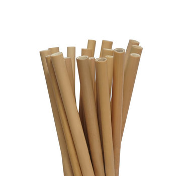 High quality  disposable jumbo compostable biodegradable drinking straws bamboo