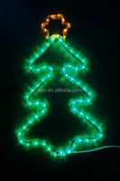 CE Certificate Waterproof Christmas Tree Led Rope Motif Light