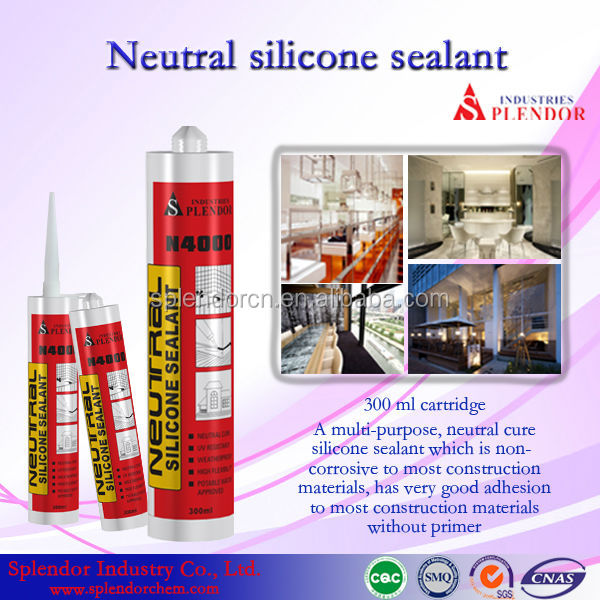 Silicone Sealant for rc boat catamaran hulls/ rebar adhesive silicone sealant supplier/ aluminum and glass silicone sealants