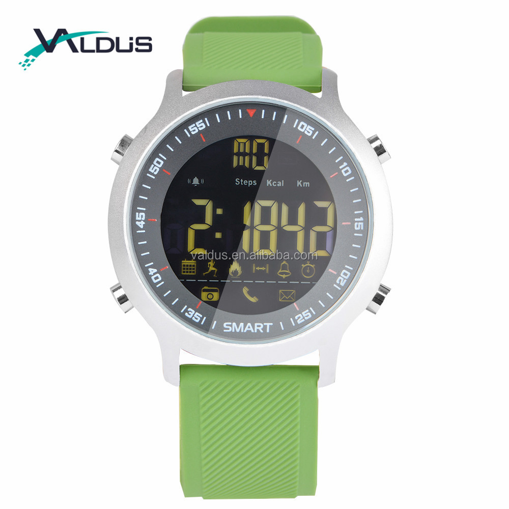 Message Push Sports Smart Watch Remote Camera Wristwatch Waterproof Fitness Tracker EX18