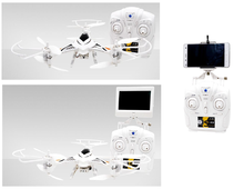 Factory Price 4-Axis White Mini Drone For Baby Toy with Wifi and 2 Mega FPV)