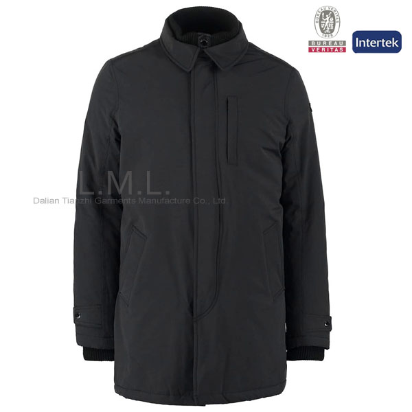 Hot sale long coat men winter coat