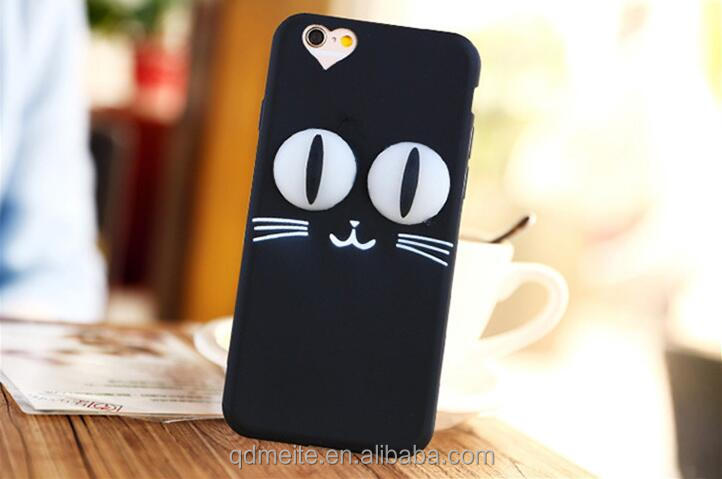 High quality cute cartoon silicone phone case