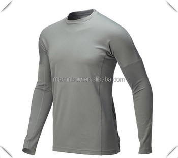plain basic design Custom made Dry-fit polyester spandex blended long sleeve fishing t shirts wholesale for outdoor