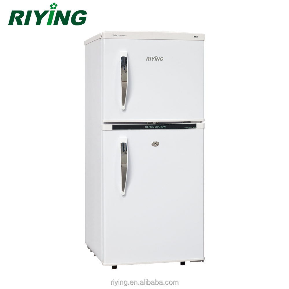 138L China Supplier Ningbo Solar Refrigerator 50L-300L 12V Compressor Refrigerator DC Fridge