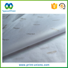 Custom gift wrap paper manufacturer white wrapping tissue paper