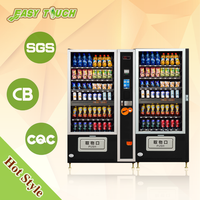 snack and drink self service cosmetics DVD vending machine for sale
