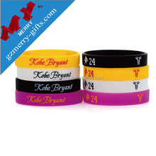 Popular gifts blank silicon wristband wholesale