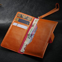 Wholesale fashion leather wallet case for apples iphone 4/4s/4g , for iphone 4 handbag case