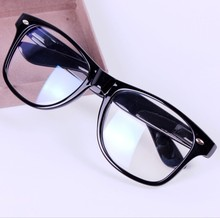 Large Frame Black Computer Glasses Brand Design Women and Men Optical Frame Anti Radiation Glasses