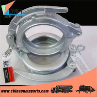 concrete pump hose clamps pipe fittings