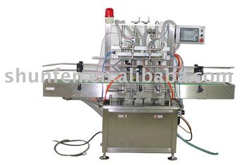 Automatic Double-head Liquid Filling Machine (liquid filling machine, water filling machine, juice filling machine)