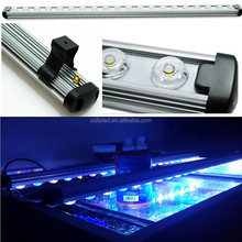 Waterproof 48inch LED acuario bar lamparas para pecera White 6500 -12000K Blue 460nm