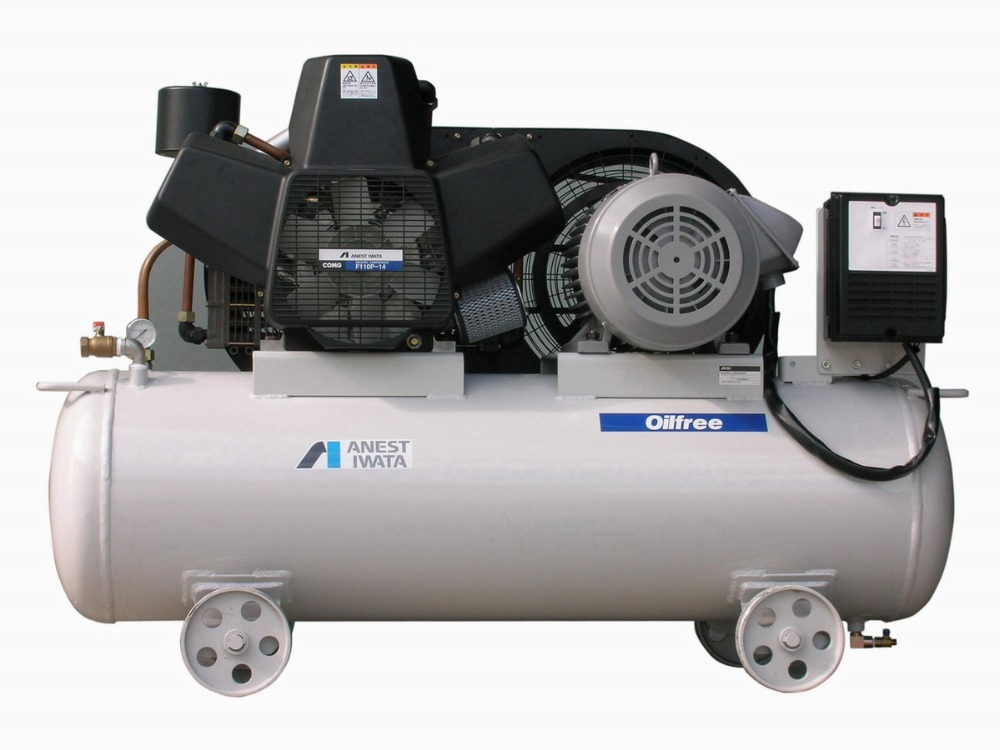 Price of Oil Free Piston Anest Iwata Air Compressor and Air Receive