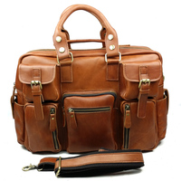 Vintage Mens Genuine Leather briefcase wholesale,briefcase men,business bag briefcase for man