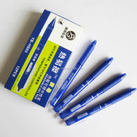 Big promotional High Quality heat erasable click pen for school and office