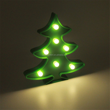 Romantic Indoor 3D Love Heart Marquee Letter LED Wedding christmas tree night light