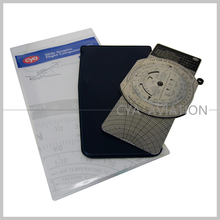 cya brand E6-B metal flight computer pilot flying training Navigation student plotter Air Navigation Device