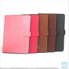 PU leather wallet case for iPad air with Credit Card Slots & Holder Leather Case P-IPD5CASE012