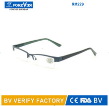 Multiple color men and women readers frame with spring hinge RM229