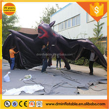 Inflatable bat,2018 hot sale giant inflatable replica for Halloween decoration