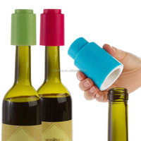 Hot Sale ABS Push Plastic vacuum wine bottle stopper,Cheap Champagne Stopper vacuum wine saver