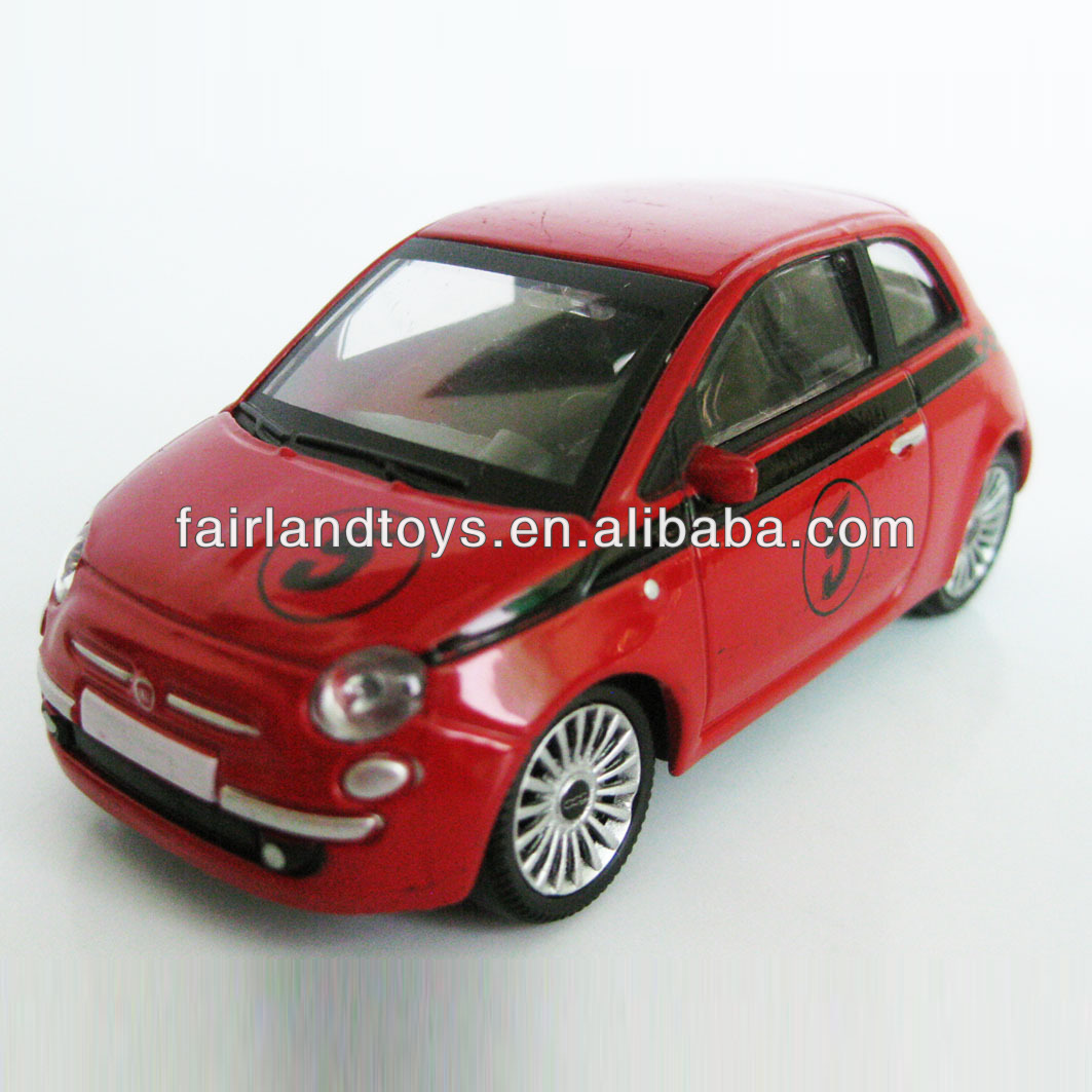 1:43 OEM fiat model,custom made die cast toy car,children metal car