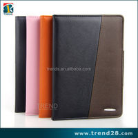 alibaba express hot pu folding leather magnetic card wallet case for ipad mini2