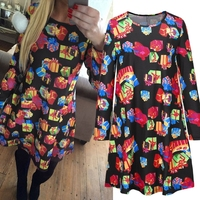 MS67360W very cheap Christmas dress latest design woman clothes