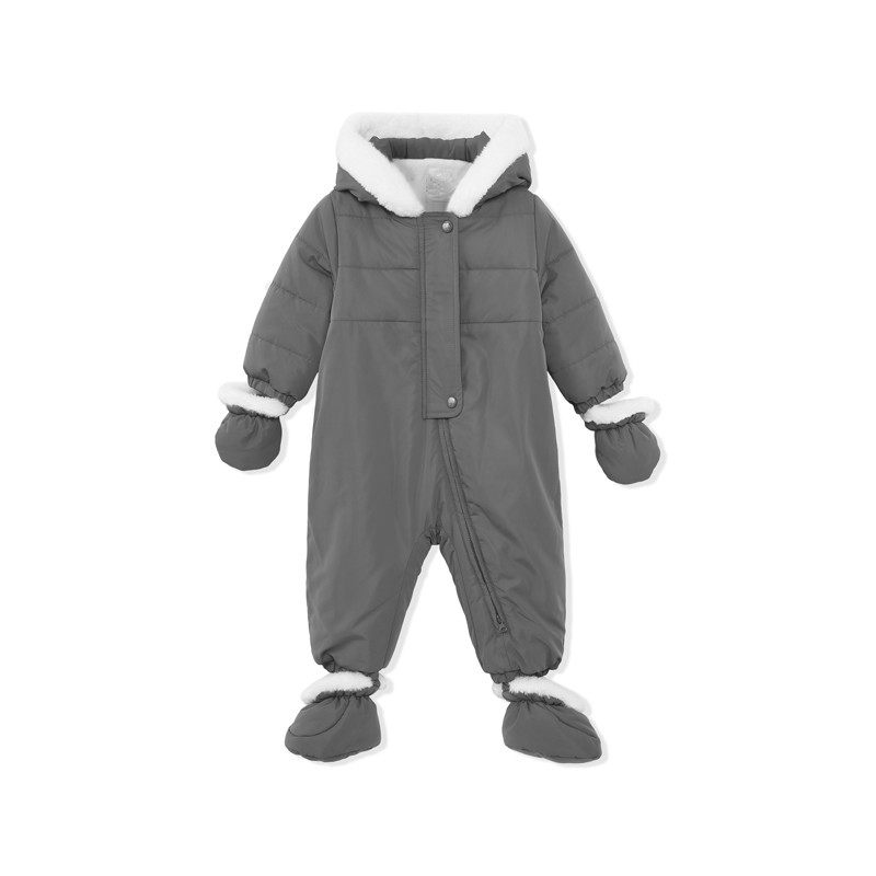 fleece lining children ski race suit overall for winter with windproof fabric