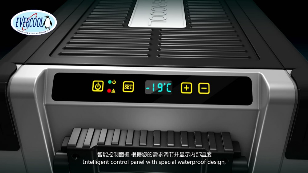 car freezer refrigerator portable 12v 50L