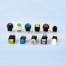Audio Video Push Button Switch with on off Actuator Illuminated for All Broadcast Panel Needs