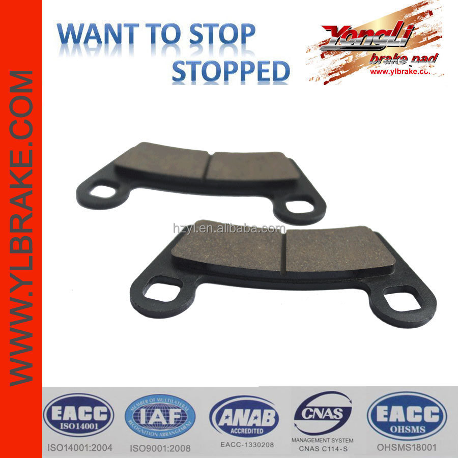 Good performance brake part ATV spare parts,China quality best ATV brake pads,brake pad motorcycle