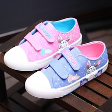 New arrival cute rabbit canvas kids children shoes