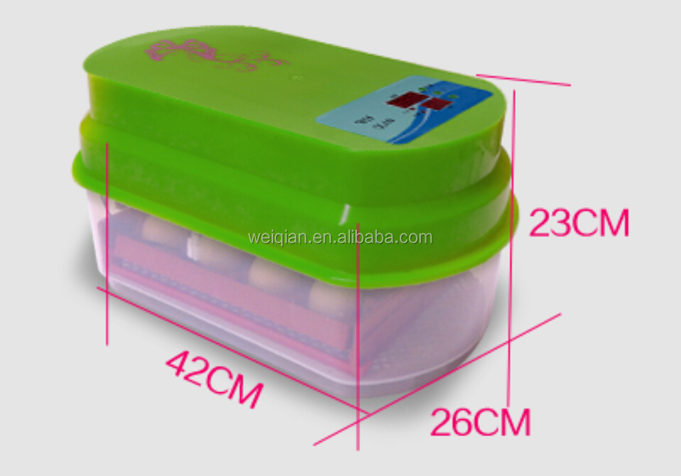 15 pcs MiNi chicken egg incubator hatcher machine
