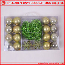 able promotional decorating xmas ball set