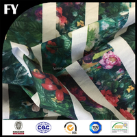 Your own designs printed cotton poplin floral fabric