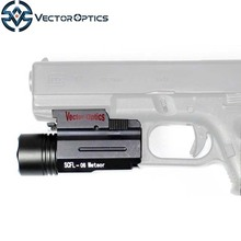 Vector Optics Meteor LED Hunting Light Tactical Pistol Flashlight with Quick Release QD Mount for Gun Accessories
