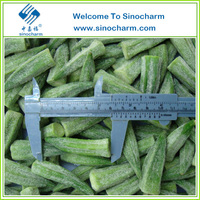 Frozen IQF Whole Baby Okra