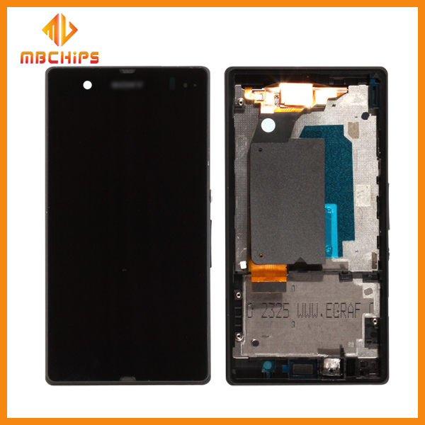 New lcd replacement for sony xperia z1/mobile display for sony xperia z ultra lte c6833 lcd screen