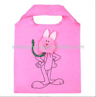 Rabbit Shape Eco Reusable Folding Bag