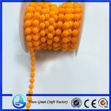 High quality fashion cotton cords bead hair wedding decoration