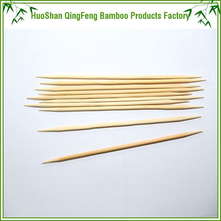 Disposable flat Various Cocktail Finger hot sale high quality Wholesale Natural outdoor food mini bamboo bbq skewers sticks