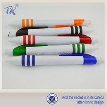 Alibaba Hot New Imports Personalized Promotion Pen Holder Chain Plastic Twist Ball Pen
