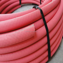 Industrial hose cloth fiber reinforced rubber water garden hose pipes